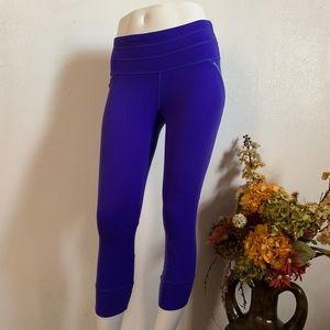 ATHLETA purple Capri Leggings Athletic S